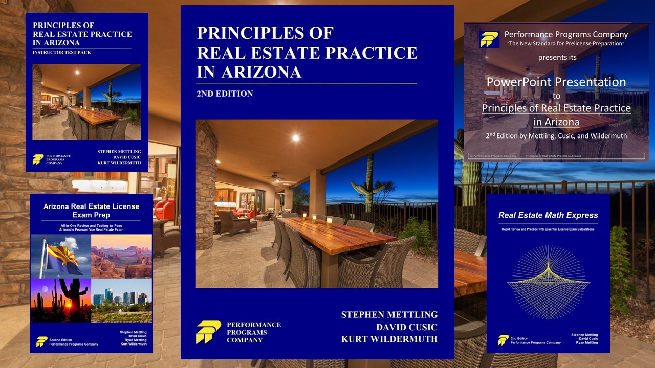 Principles of Real Estate Practice in Arizona