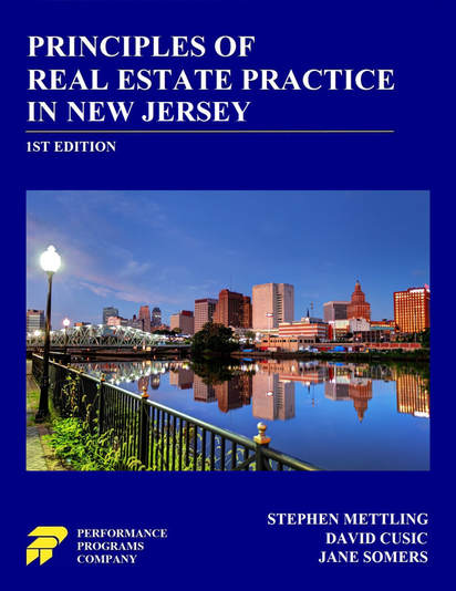 Principles Of Real Estate Practice In New Jersey Performance Programs Company